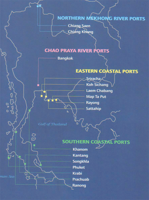 Image of Ports in Thailand
